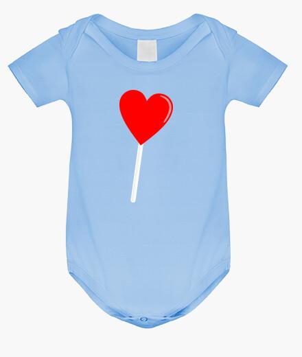 Vêtements enfant coeur piruleta