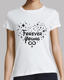 Coeur pour toujours jeune - noir