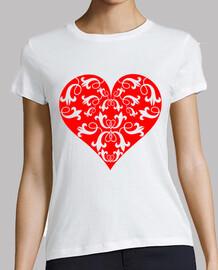coeur rouge lis
