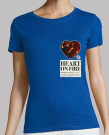 coeur sur le feu femme