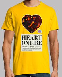 coeur sur le feu homme