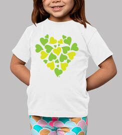 coeurs verts