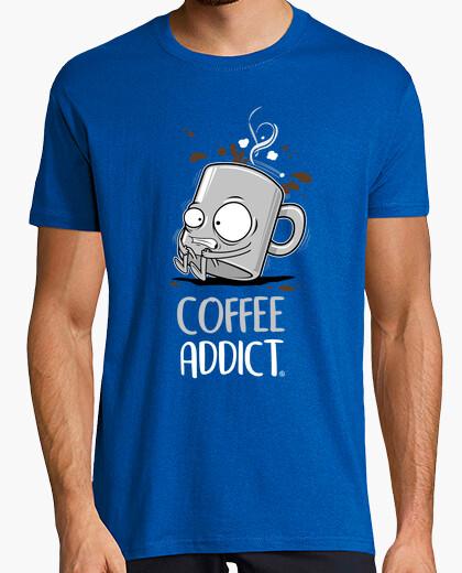 T-shirt coffee addict