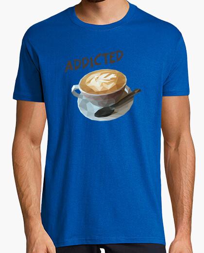 Camiseta Coffee addicted