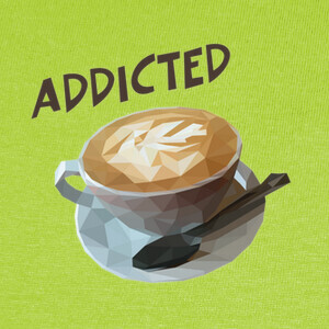 Camisetas Coffee addicted