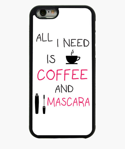 Funda iPhone 6 / 6S Coffee and mascara