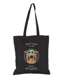 coffee bébé yoda - sac noir