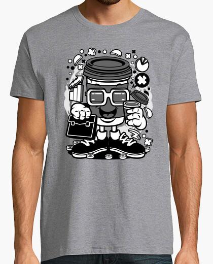 Camiseta COFFEE CUP BUSINESSMAN