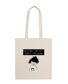 coffee è il mio best amico, il sacchetto