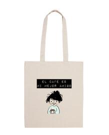 coffee is my best friend, bag