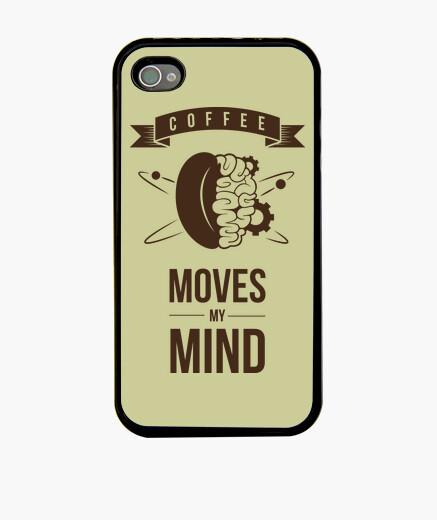 Funda iPhone Coffee moves my mind funda de movil