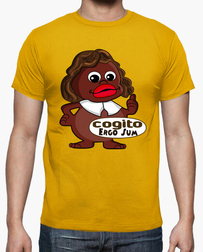 Camiseta COGITO DESCARTES