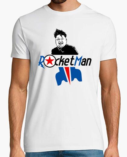Camiseta cohete hombre kin jong un norte corea trump
