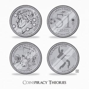 T-shirt coinspiracy theories