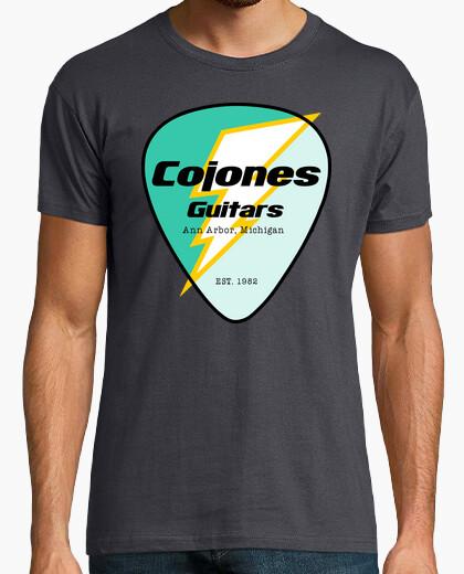 T-shirt cojones chitarre tuono pua