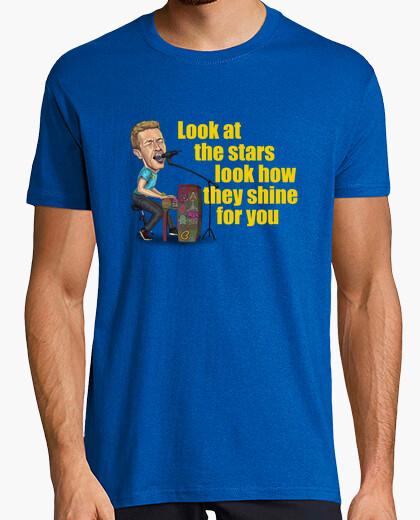 Camiseta Coldplay Yellow