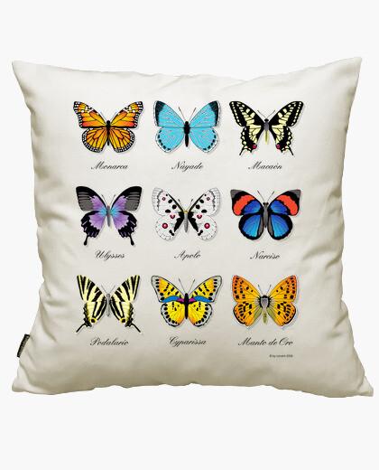 Funda cojín Colección de Mariposas