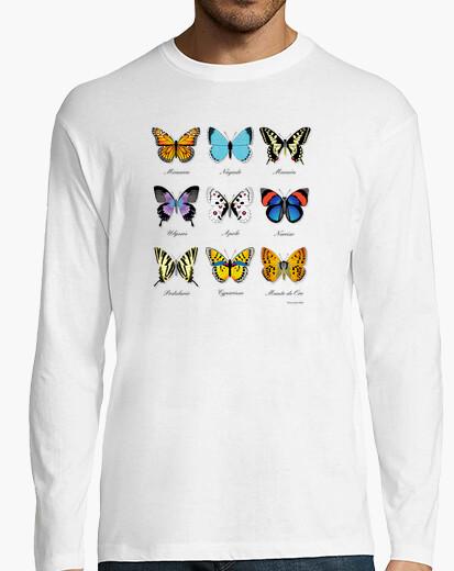 Camiseta Colección de Mariposas