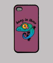 colgar allí gecko colorido