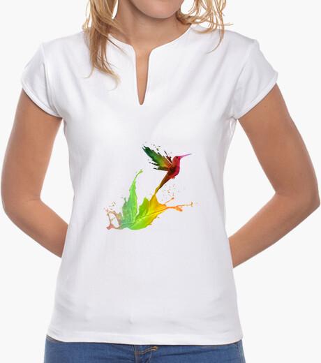 Camiseta Colibrí de Colores