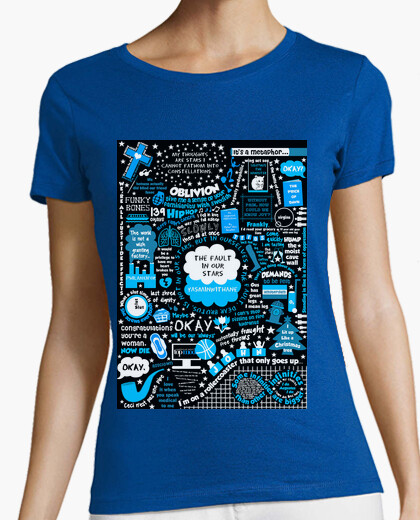 b09cda85c Camiseta Collage Bajo la misma estrella girl - nº 562774 - Camisetas ...