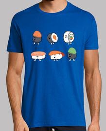 collecte de bulle de sushi