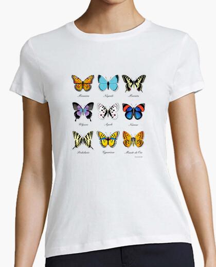 Tee-shirt collection de papillon