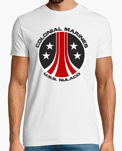 Camiseta Colonial Marines Aliens 1