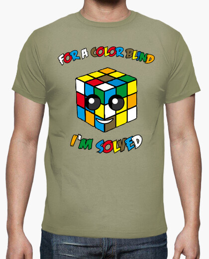 Camiseta COLOR BLIND CUBE