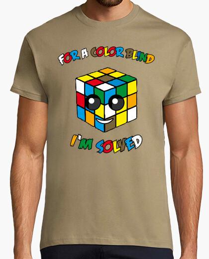 7ab1287c color blind cube T-shirt - 1451944 | Tostadora.com