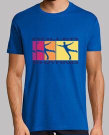 color de evolución de patinaje