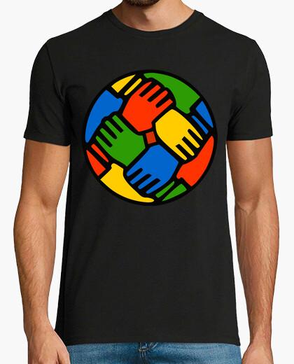 Camiseta Color hands