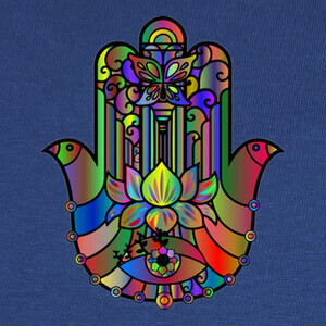 Tee-shirts color khamsa