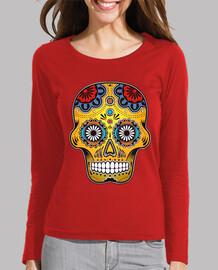color mexico skull