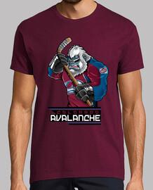 Colorado Avalanche Logo Cartoon
