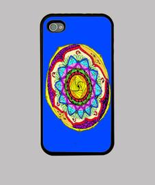 colorato mandala caso di iphone 4