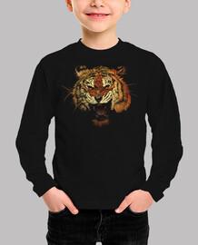 colore ruggito dlei tigre