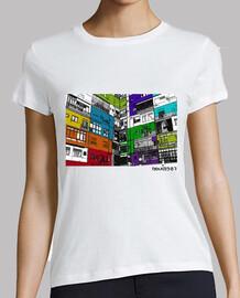Colored houses - Camiseta