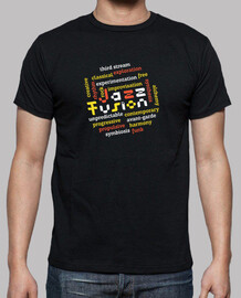 Colorful Jazz Fusion Cool T-shirt