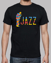 Colorful Jazz Musician