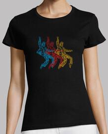 colorful rock dancer