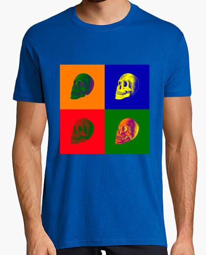 Camiseta COLORFUL SKULL