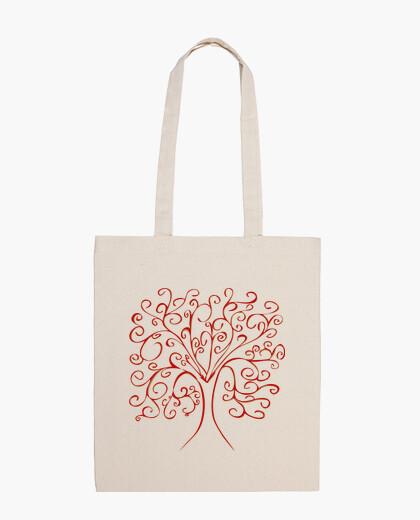 Colorful tree of life bag