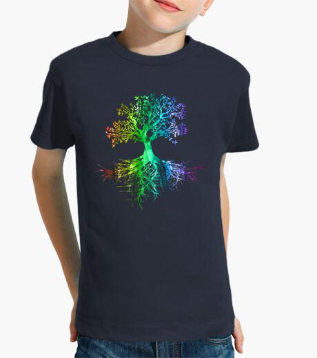 Ropa infantil Colourfull tree rainbow version