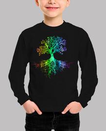 Colourfull tree rainbow version