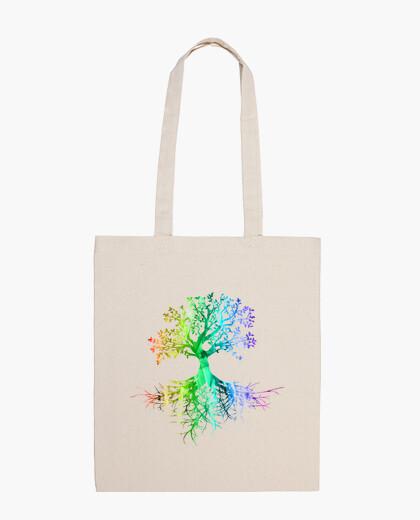 Bolsa Colourfull tree rainbow version