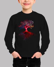 Colourfull tree warm