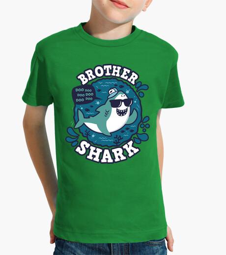 Abbigliamento bambino colpo di shark fratello