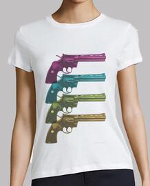 Colt Python PopArt Camiseta chica