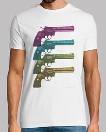 Colt Python PopArt Camiseta chico
